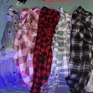 Lot of 5 Eden & Olivia Button Downs